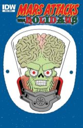 Mars Attacks the Holidays (Cover C)