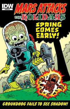 Mars Attacks the Holidays (Cover RE)