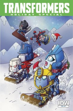 Transformers Holiday Special (2015) (Subscription variant)
