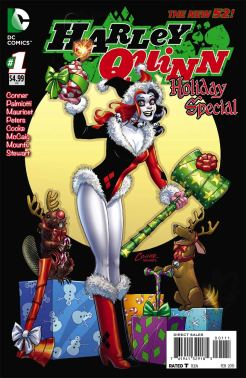 Harley Quinn Holiday Special (2014) (Christmas cover)