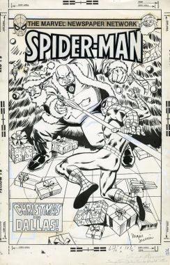 Spider-Man: Christmas in Dallas (original cover art by Marie Severin)