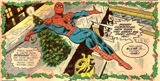 Amazing Spider-Man 166 panel