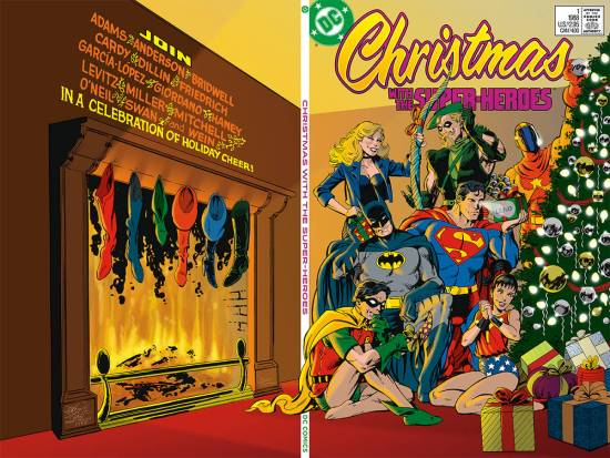 Christmas With The Super-Heroes (1988) 1 (Reconstructed)