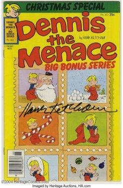 Dennis the Menace Bonus Magazine Series 183 (autographed)