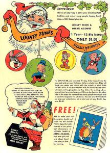 Looney Tunes & Merrie Melodies subscription ad