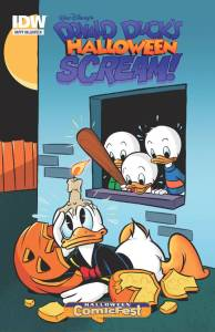Donald Duck's Halloween Scream! (2015) 1