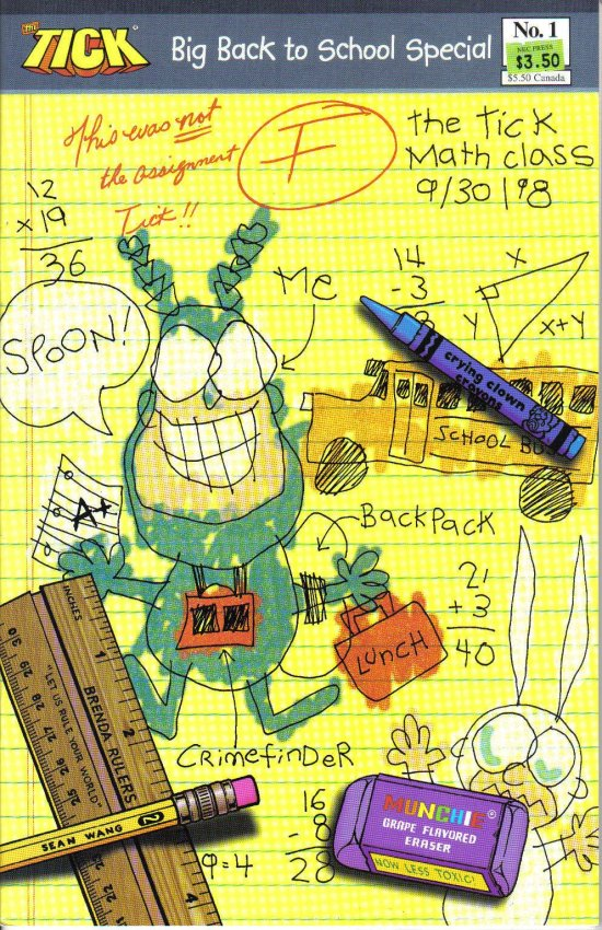 Tick Back to School Special (1998) 1