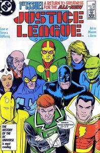 Justice League (1986) 1