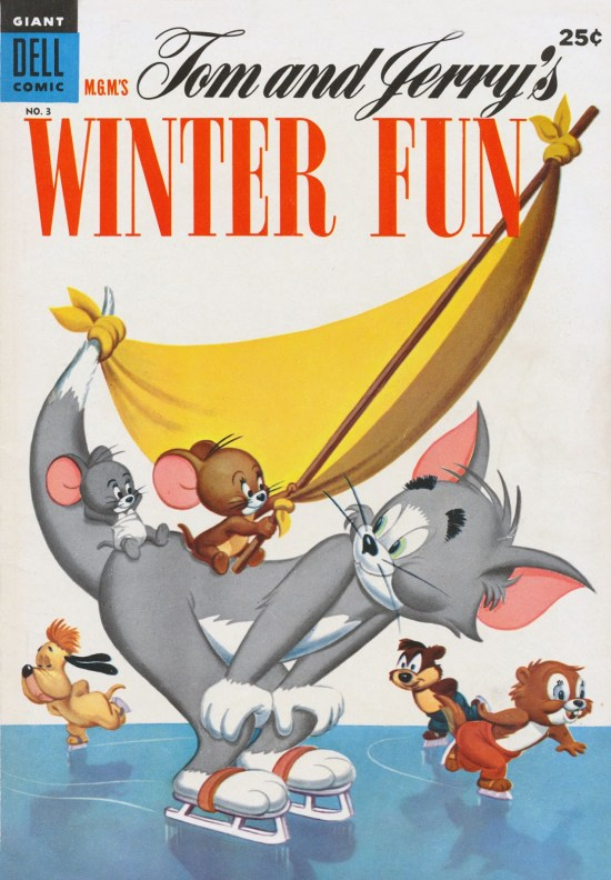Tom & Jerry's Winter Fun (1952) #3