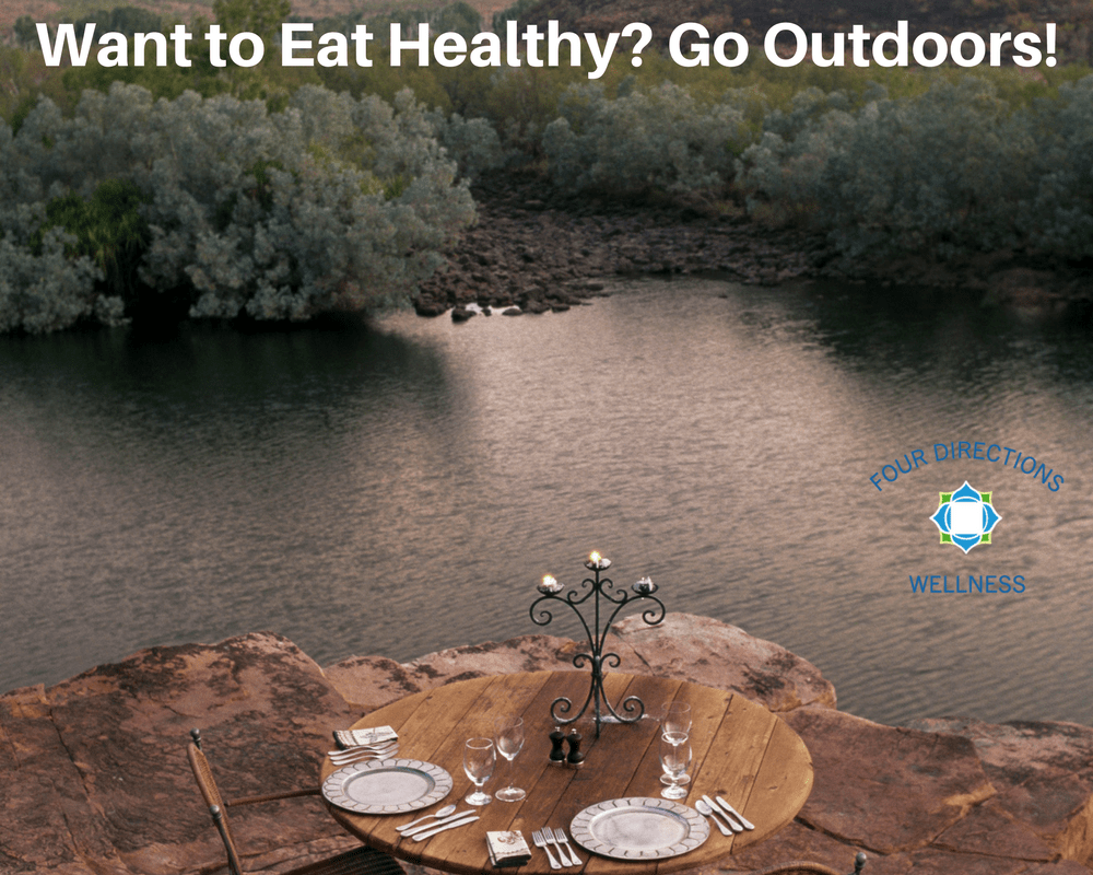 healthy eating outdoors