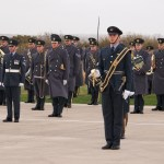 IV(R) Sqn on parade