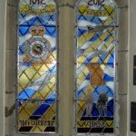 The Stained Glass Window. Photo: Pete Webb