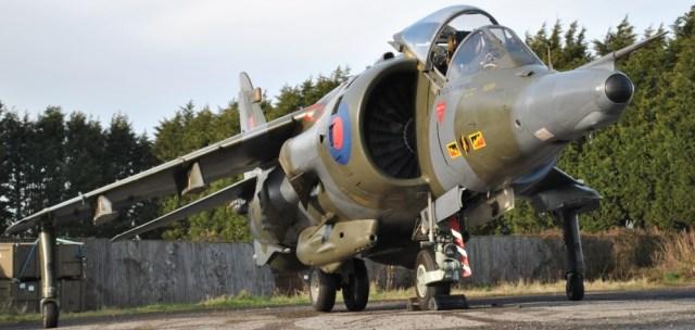 Harrier GR3 XZ132
