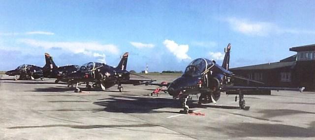 Hawks at Culdrose