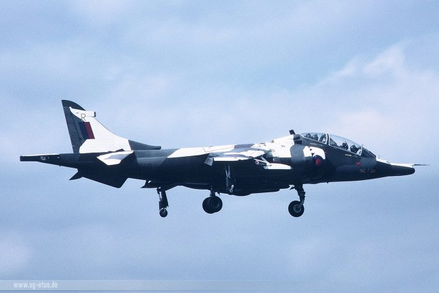 Harrier T4 ZB600 'R' 1984