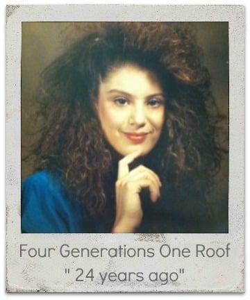 Big hair photo multigenerations living under one roof