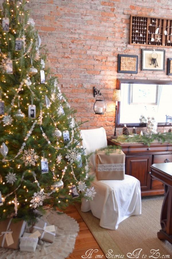 diy tag photo ornaments