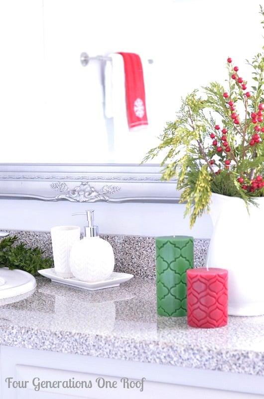 DIY bathroom renovation target bath items