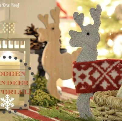 How to make reindeer