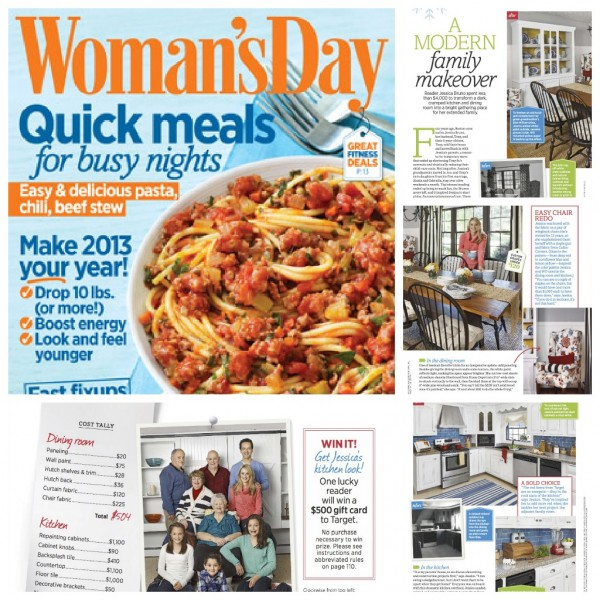 Woman's Day feature + behind the scenes
