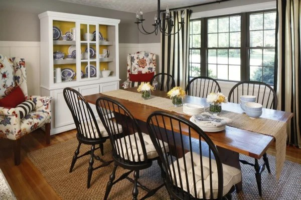 cottage dining room makeover