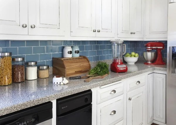 how to install a removable kitchen backsplash