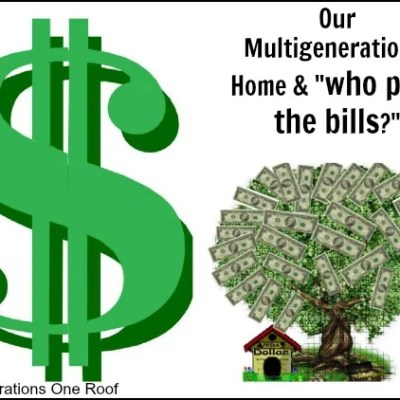 Our multigenerational home + our finances