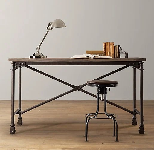 do it yourself desk by restoration hardware
