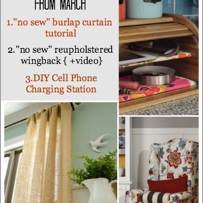 Our favorite DIY projects + tutorials from March