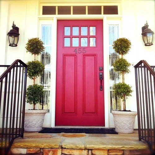 20 colorful front door colors - Page 3 of 20 - Four ... on Door Color Ideas  id=32260