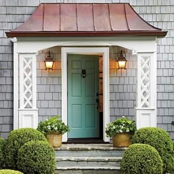 blue green front door color ideas 3
