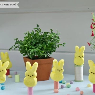 Easter decorating ideas {Easter Candy}
