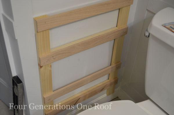 DIY Bathroom Magazine Rack {tutorial}_DSC0030