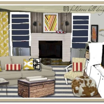Playroom + Study Room Mood Board Update