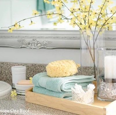Bathroom Refresh with Better Homes and Gardens {makeover}