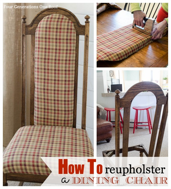 Reupholstering Dining Room Chairs: How To Reupholster A Dining Chair
