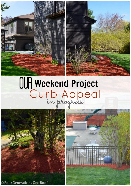 our curb appeal project