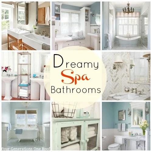 dreamy spa bathrooms