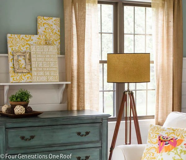 how to brighten up a room with lamps