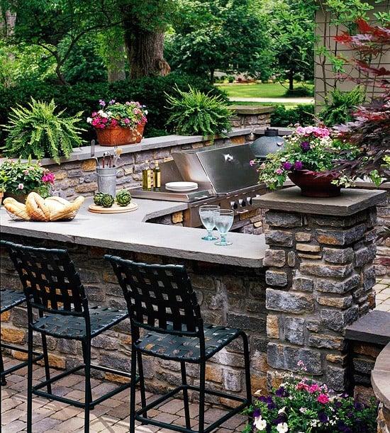 functional outdoor kitchen ideas