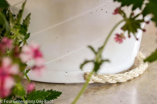 SIsal DIY Planter