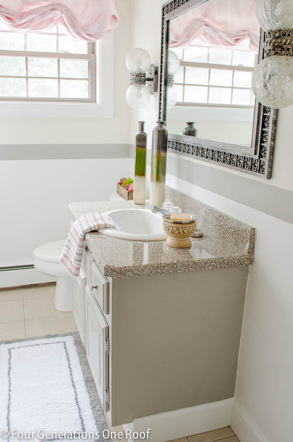 spring bathroom cleaning tips