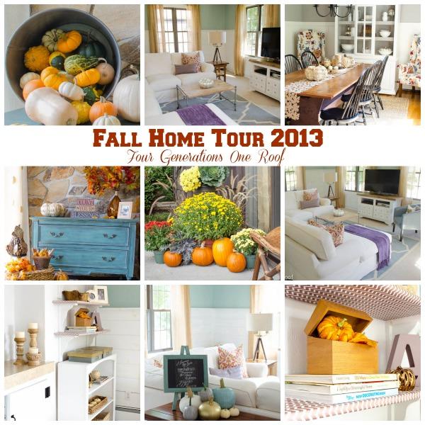 fall home tour 2013