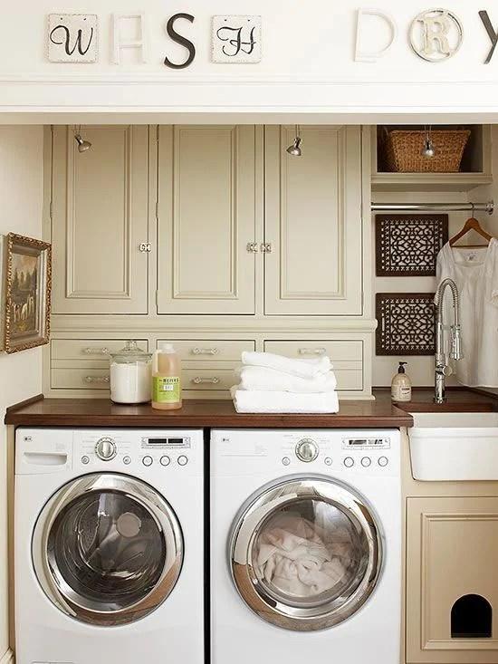 Laundry room organization + sneak peek of shelves - Four ... on Laundry Room Organization Ideas  id=52128