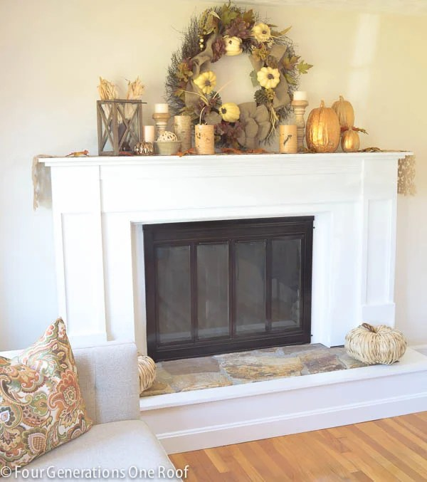 How To Update A Fireplace Surround Four Generations One Roof