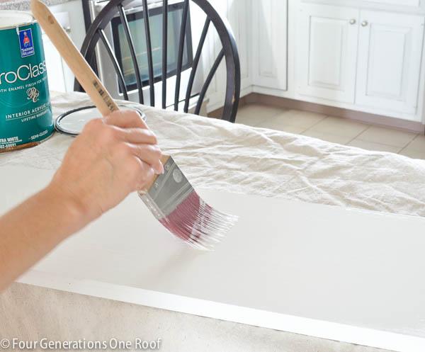how to make a shelf christmas mantel-5