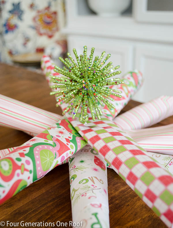 diy whimsical christmas star