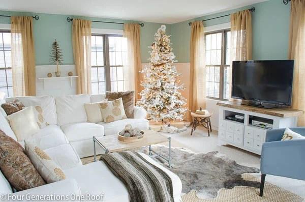 wayfair decorating a tree