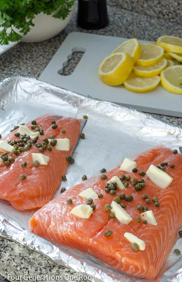 baked salmon fillet-4