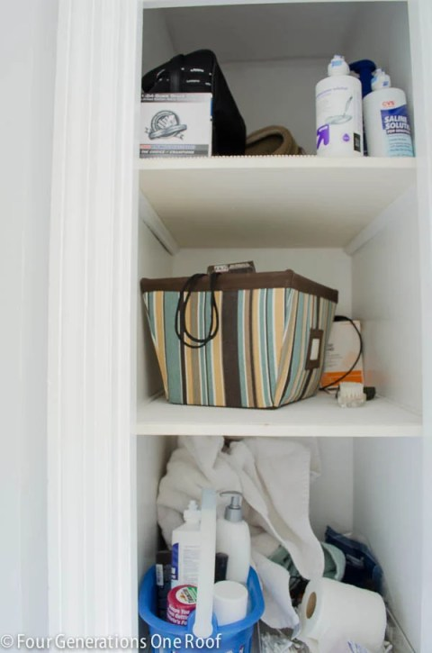 Small Closet Organization Project